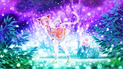 「光の森の猫」03「光の森」