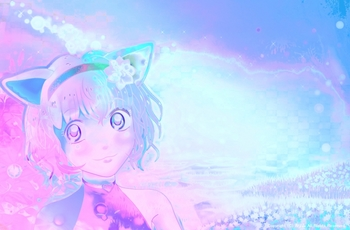 「光の森の猫」04