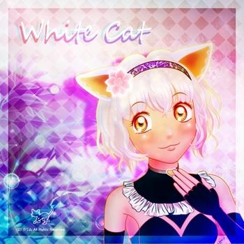「CDジャケット」02「白猫さん」